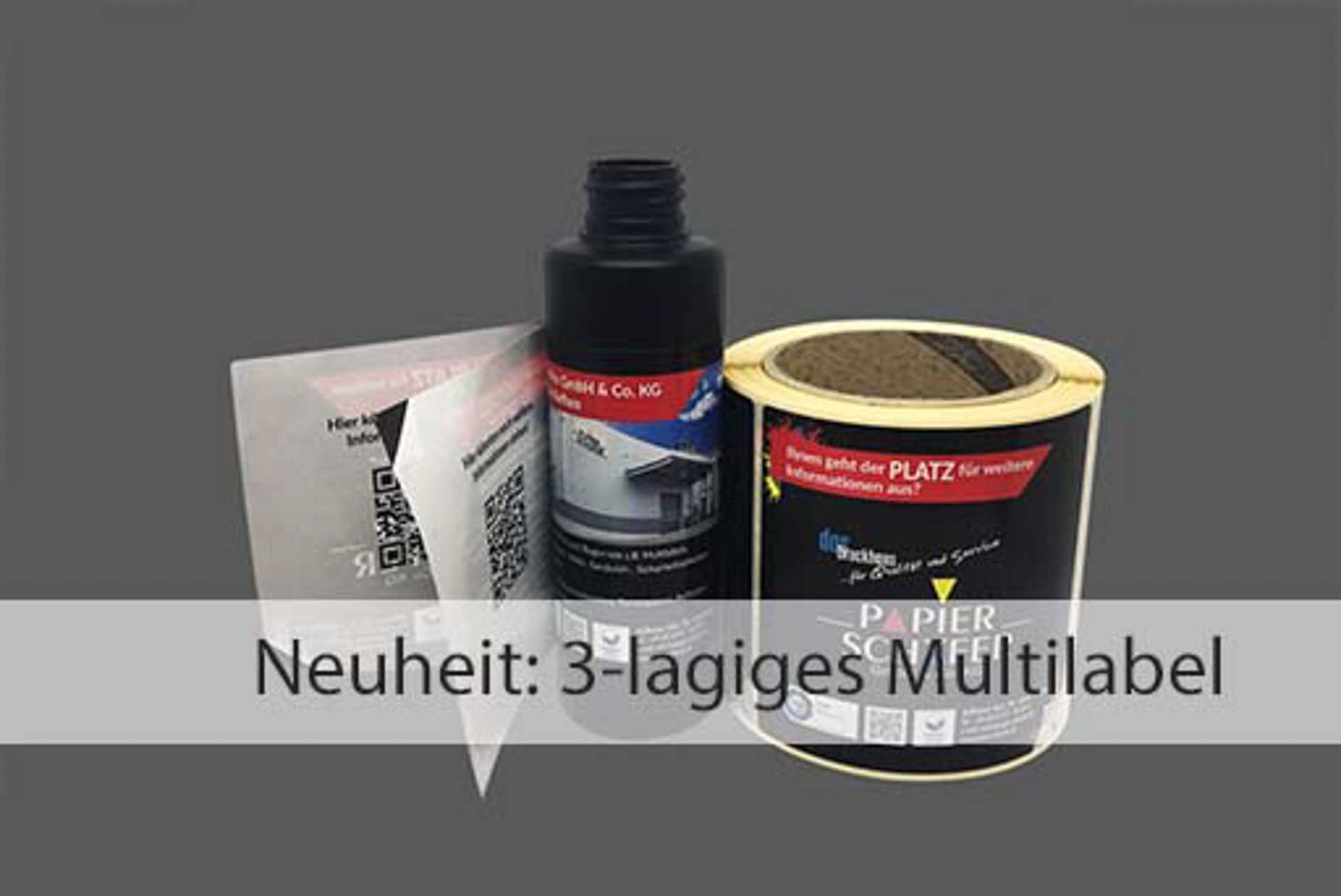 3-lagiges Multilabel | PApier-Schäfer GmbH & Co. KG