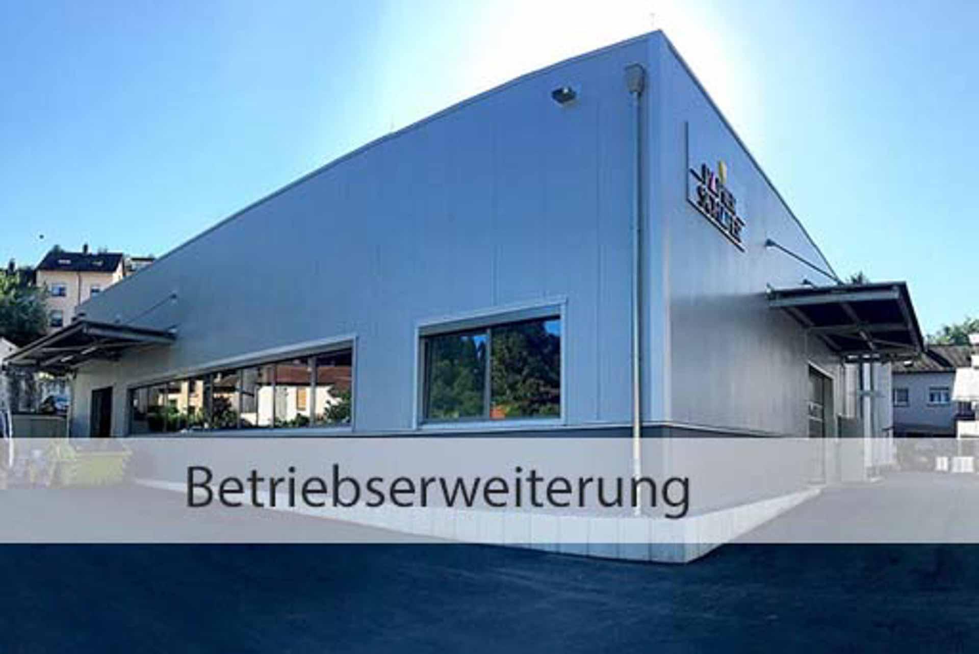 Betriebserweiterung | Papier-Schäfer GmbH & Co. KG