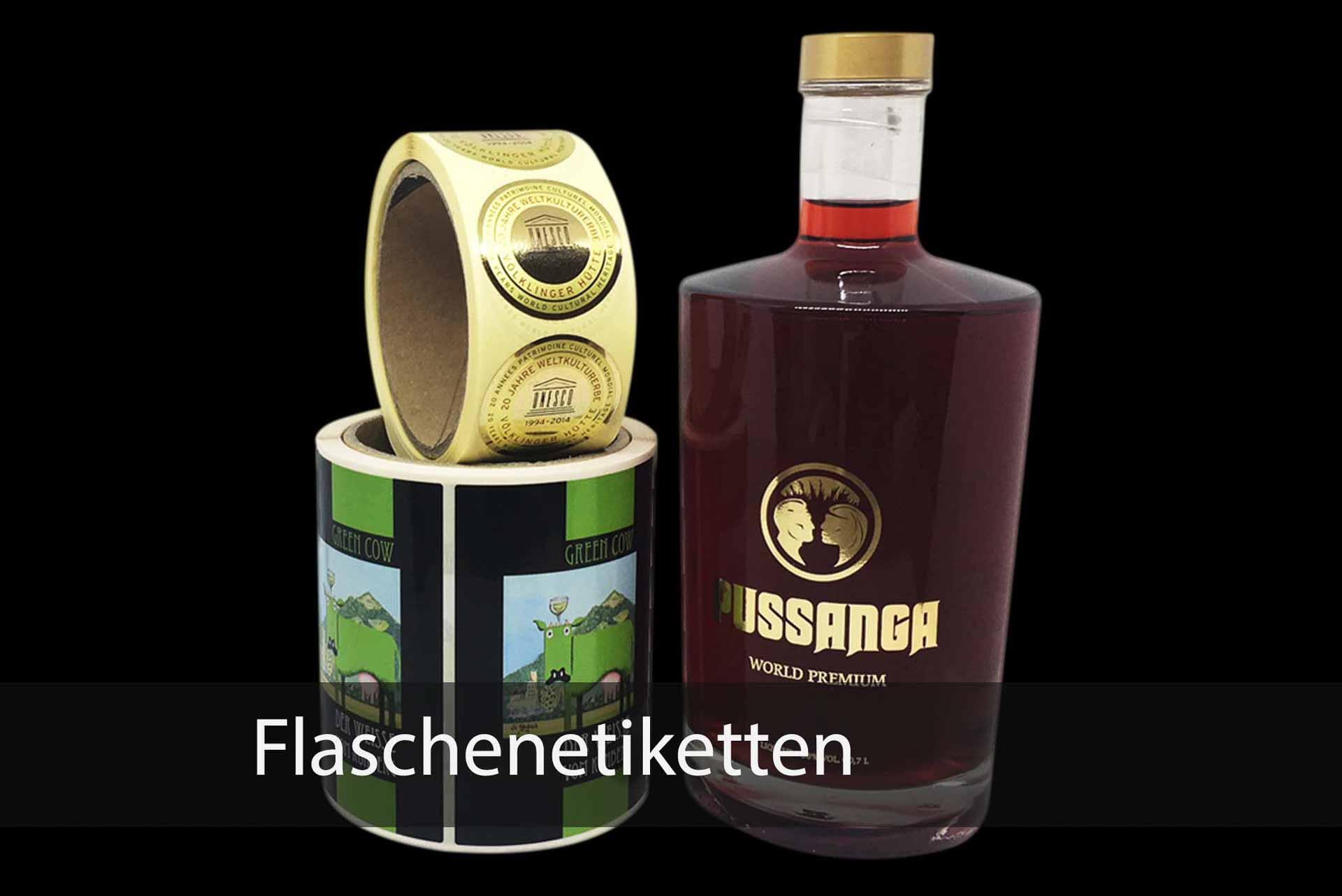 Flaschenetiketten - Etiketten und Aufkleber in Weinheim   Papier ...