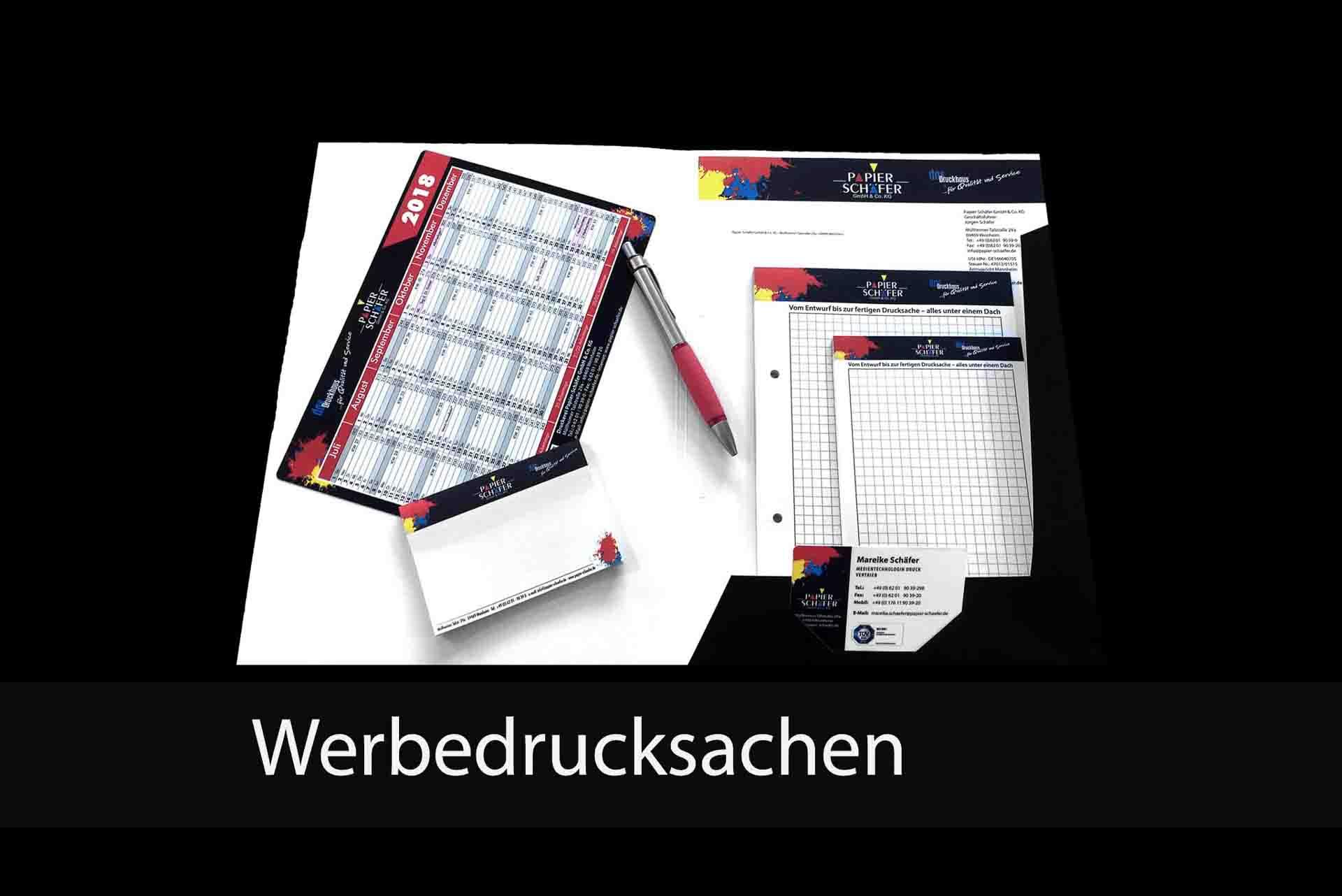 Werbedrucksachen | Papier-Schäfer GmbH & Co. KG