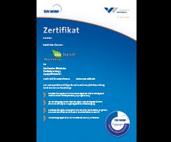 Zertifikat-Oekostrom
